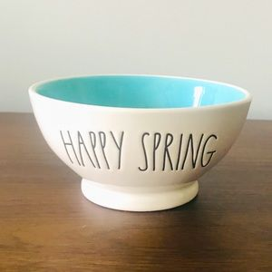 Rae Dunn Ceramic Happy Spring Bowl
